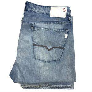 Guess Jeans Cliff Bootcut Light Wash Denim
